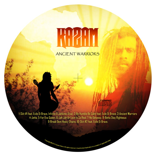 Kazam Davis - Ancient Warriors EP - (2014)