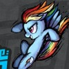 Download MLP Fighting Is Magic Rainbow Dash Theme Mp3