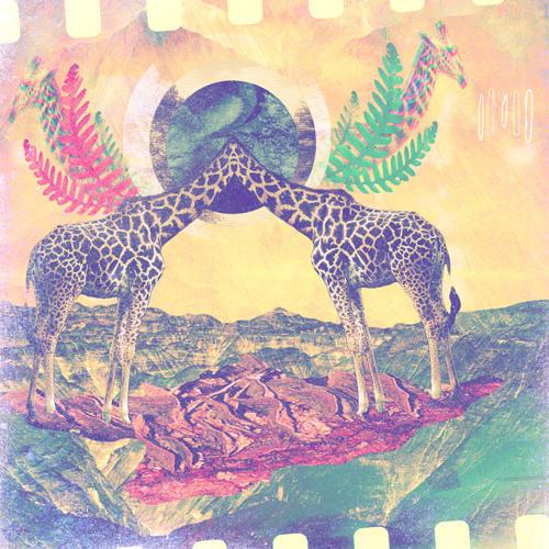 trippy giraffes