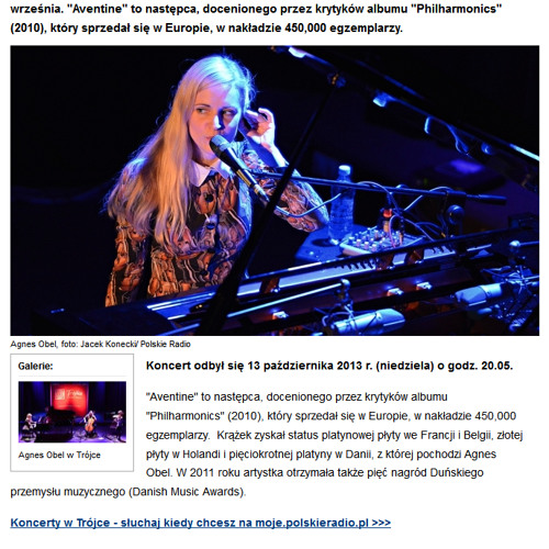 Agnes Obel - 10 - Riverside (Live At Polish Radio)