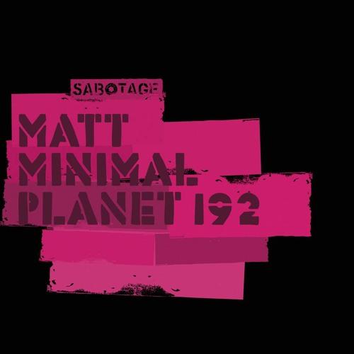 Matt Minimal - Planet 192 ( Original Mix ) [Sabotage]