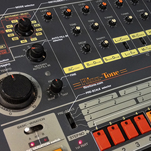 RAW Roland Tr-808 samples free for you to do with what you like.