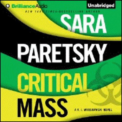 CRITICAL MASS By Sara Paretsky, Read By Susan Ericksen