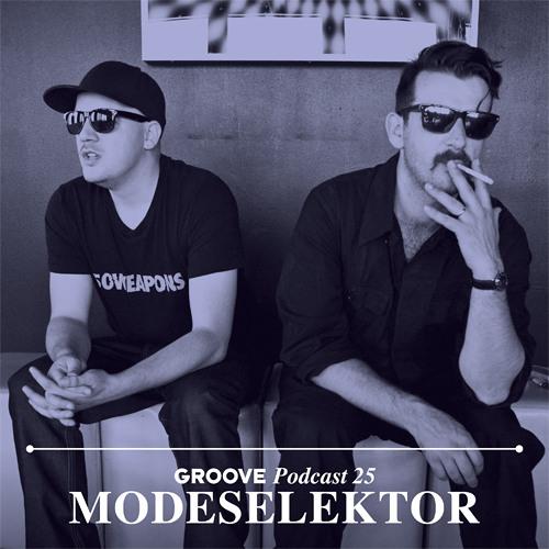 Groove Podcast 25 - Modeselektor
