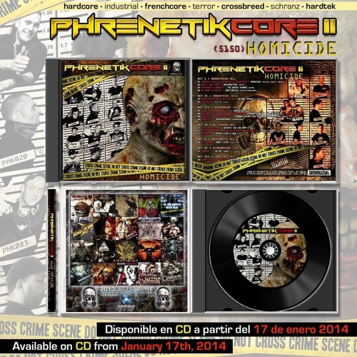 Dark Bayron & Da Ruizer RASTATEK (Preview) PHRENETIKCORE 2-Available on CD from January 17th
