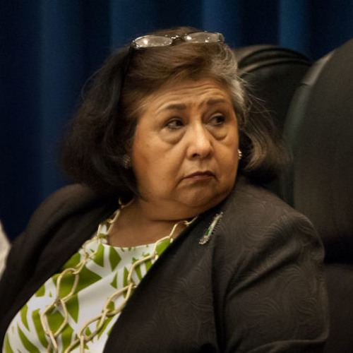 Gloria Molina responds to Sheriff Baca's announcement that he'll retire