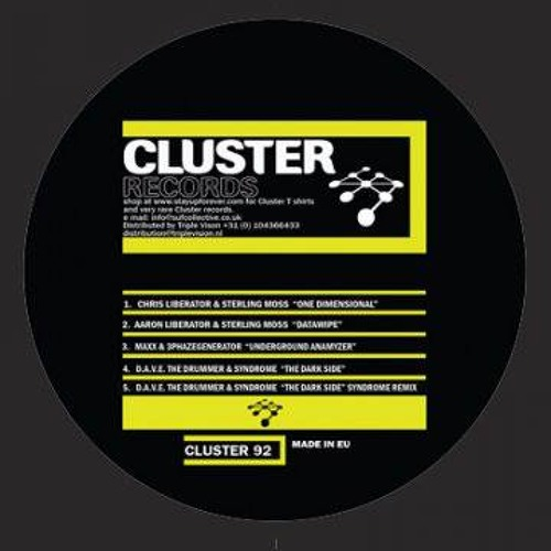 Cluster 92E (D.A.V.E. The Drummer & Syndrome) Syndrome Remix