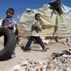 Suriye'deki savaş mağduru çocukların dramı mp3