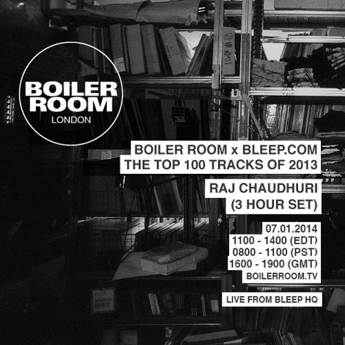 Bleep 100 Tracks of 2013 Boiler Room mix