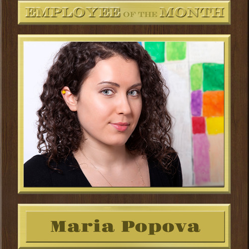BRAIN PICKINGS' MARIA POPOVA on Employee of the Month