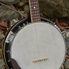 1960s Japanese-made Tempo 5-string aluminum-rim bluegrass banjo (demo)