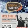 FRIDAY 4 FRIENDS mit dem REVOLVERHELD DJ-TEAM: FR, 17.01.2014