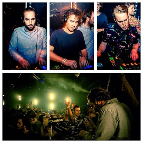 L'Atelier B2b Tijn Benedek @ Kreativ 3 Years Of Madness - Studio 80 (20-12-2013)
