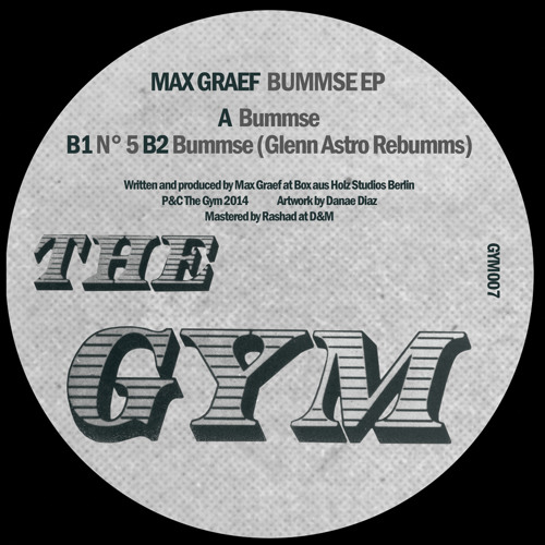 (GYM007): B1. Max Graef - Nr 05 (Out soon!)