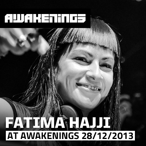 Fatima Hajji at Awakenings Female Hard Techno Special 28-12-2013