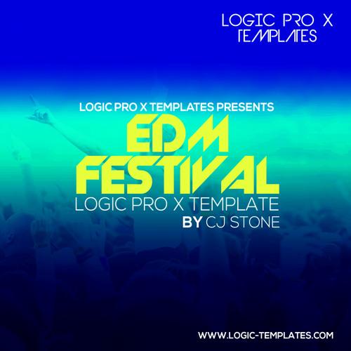 EDM Festival Logic Pro X Template
