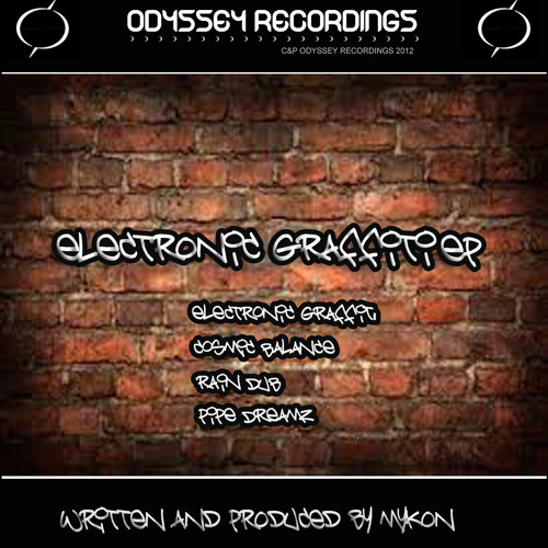 Electronic Graffiti By Mykon * Out Now* 3rd March 2014 *