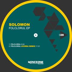 Solomon - Folclorul (Avirra Remix) OUT NOW on Beatport