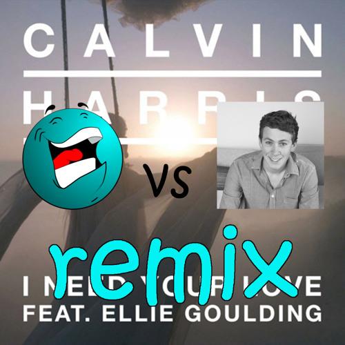 Calvin Harris - I Need Your Love (Komix vs C.S.D Audio Productions Remix)(Radio Edit)
