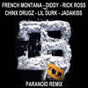 French Montana - Paranoid (Remix)(Ft. Lil Durk,& Various Artists) COKEBOYZ 4
