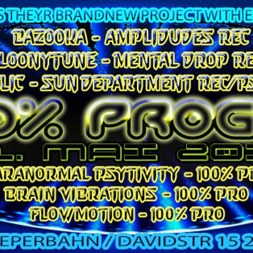 Brain Vibrations & Mc Shorty Liveset @ 100% Proggy 1 31052013