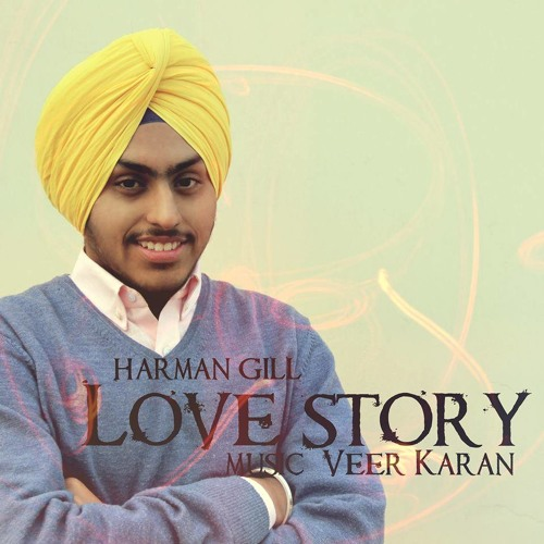 Marjaani Harman Gill: Harman Gill - Love Story#Debut#Awesome# By BkPannu