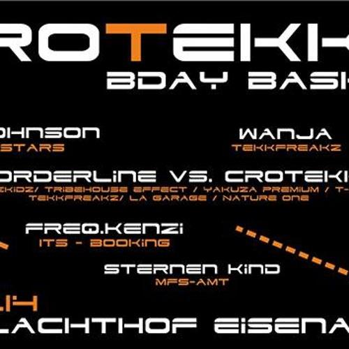 Wanja @ Crotekk B-day Schlachthof Eisenach 10.01.14