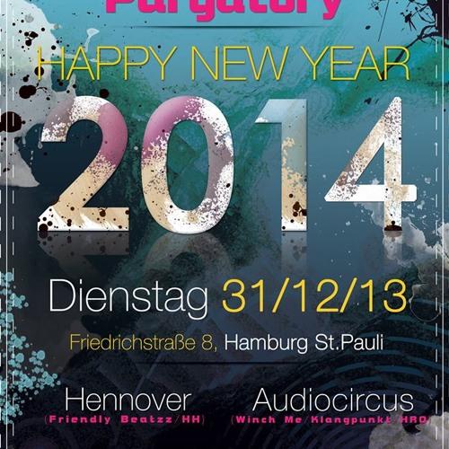 Audiocircus @ Purgatory Hamburg 01.01.14