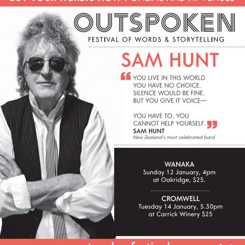 Sam Hunt interview with Bradley Craig Radio Wanaka 13 January 2014