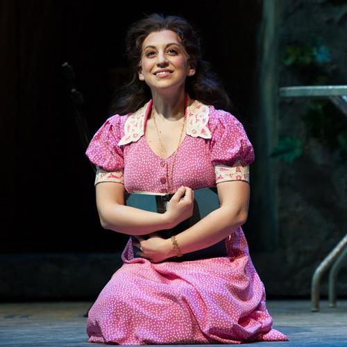 RIGOLETTO: JENNIFER ZETLAN as Gilda