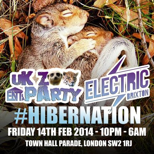 UK Zoo Party #Hibernation Promo Mix - Friday 14th February 2014 @ Electric Brixton