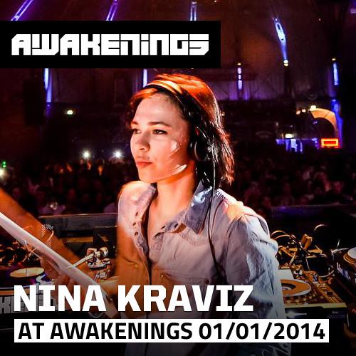 Nina Kraviz at Awakenings New Years Day 01-01-2014