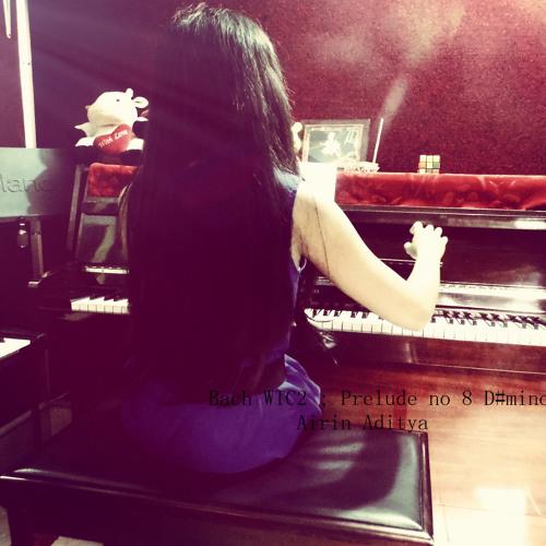 Bach WTC 2, Prelude No. 8 In D♯ Minor, BWV 877 Solo Piano by @airinaditya