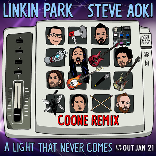 Linkin Park & Steve Aoki - A Light That Never Comes (Coone Remix)