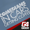 Jerry Seinfeld Patton Oswalt Chris Foust G4GEEK Comedians In Cars Getting Coffee Mixdown