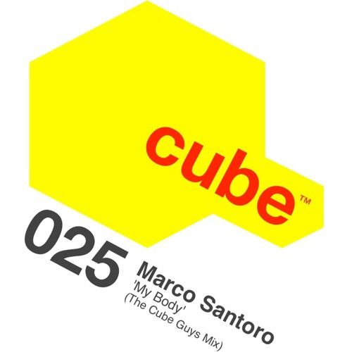 MARCO SANTORO 'My Body' (The Cube Guys Mix) OUT NOW on Beatport!