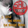 J. Cole She knows (Sal Boogie remix) w/party break Clean
