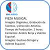 Pieza Musical con Arreglo Original