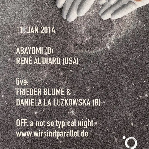 /Parallel. OFF. 001/ (a not so typical night) live @ Shift / Berlin