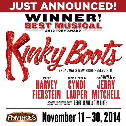 """Everybody Say Yeah"" - KINKY BOOTS"