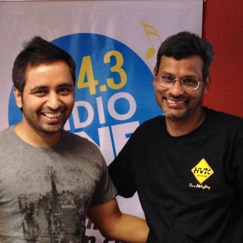 HV Kumar AKA Human GPS With MJ Tarun On 94.3 Radio One