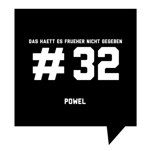 Das haett es frueher nicht gegeben #32: Powel