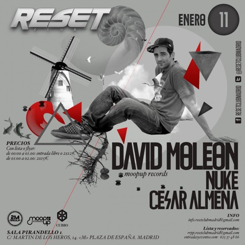 David Moleon @ Reset Club Madrid 11 Enero 2014