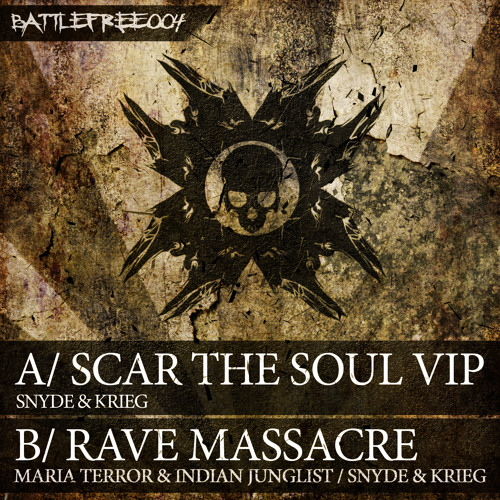Snyde & Krieg vs. Indian Junglist & Maria Terror - Rave Massacre [BATTLEFREE004] [FREE DOWNLOAD]