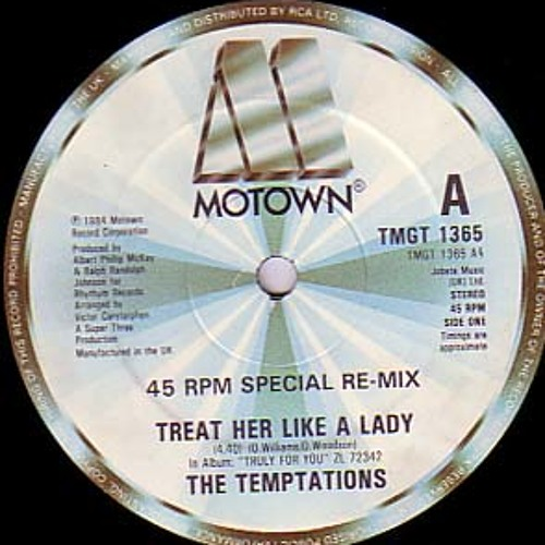 The Temptations - Treat Her Like A Lady (LeSale Edit) RE-UP!!! (WAV)