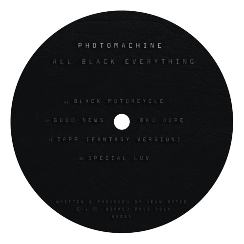 "PhOtOmachine - All Black Everything EP (12"")"