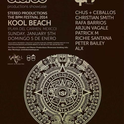 Rafa Barrios @BPM Festival Stereo Productions Showcase,Playa Del Carmen [Mexico]