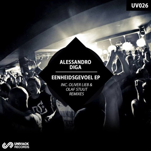 Alessandro Diga - Berlin [03.02.2014 out on Univack Records]