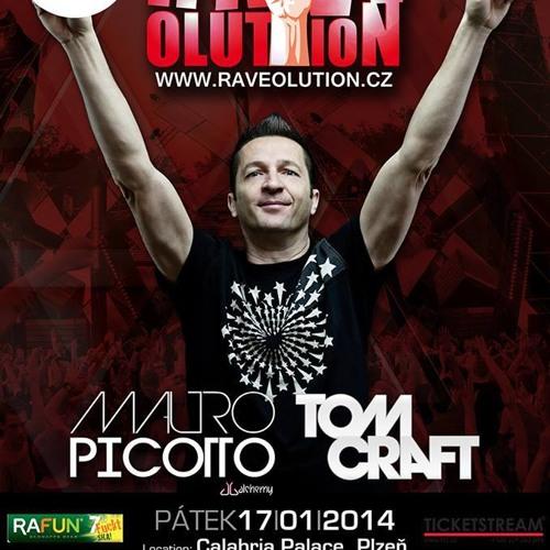 Golpe - Ravelution - Calabria Palace - Pilsen - 17.1.2014