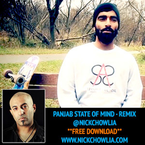 "AK AKA AMAZING ""PANJAB STATE OF MIND"" NICK C REMIX (CLEAN)"